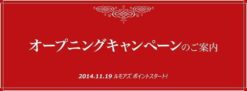 2014 Opening Campaign - rumors(ルモアズ)