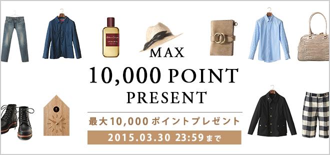 Max 10,000 Present Campaign